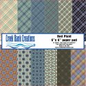 CBC 6x6 Dad Plaid Paper Pad