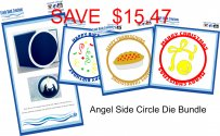 ANGEL SIDE CIRCLE DIE BUNDLE SPECIAL