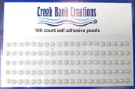 Self Adhesive Pearls White