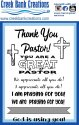 CBC 4x6 Stamp Thank You Pastor