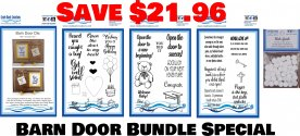 CBC BARN DOOR BUNDLE SPECIAL