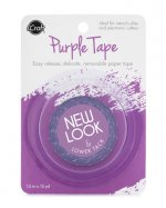 icraft removeable PURPLE tape .50
