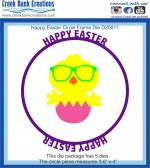 CBC Easter Circle Frame Die