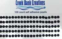 Self Adhesive Pearls Black