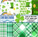 CBC 6x6 Luck of the Irish Paper Pad