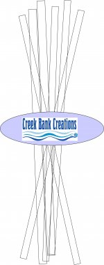 Creek Bank Creations Chipboard Strips