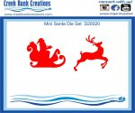 Creek Bank Creations Mini Santa Set