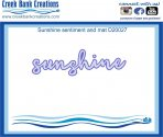 Creek Bank Creations Sunshine Sentiment
