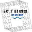 Creek Bank Creations 110 pound cardstock