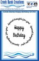 CBC Circle Stamp Happy Birthday