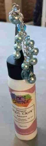 Art Bauble Bottle topper